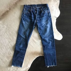 Re-done Levi's 501 Jeans